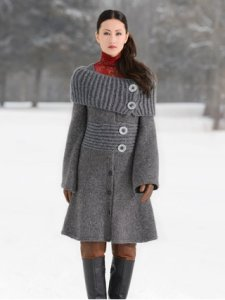 Blue Sky Alpacas Adult Clothing Patterns - Moscow Coat Pattern