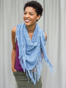 Berroco Karma Sequim Kit - Scarf and Shawls