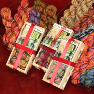 Koigu Classic Crate Fun Sock Kit