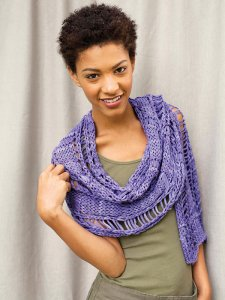Berroco Karma Chatterton Kit - Scarf and Shawls