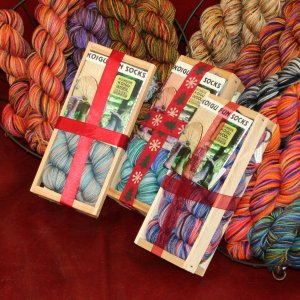 Koigu Classic Crate Fun Sock Kit - Frosty Pond