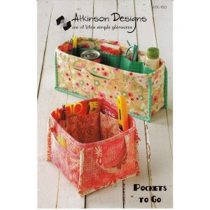 Atkinson Designs Pattern - Pockets To Go Pattern