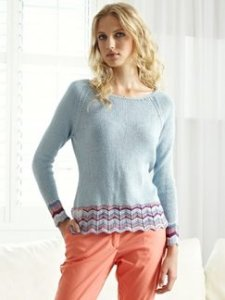Debbie Bliss Luxury Silk DK Mariella Kit - Women's Pullovers