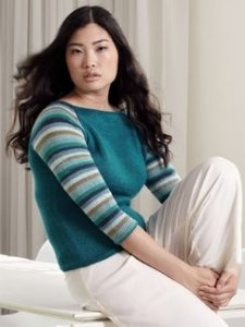 Debbie Bliss Luxury Silk DK Donata Kit - Women's Pullovers