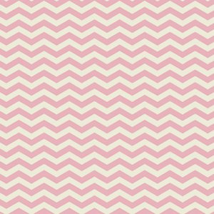 Heather Bailey True Colors Fabric - Chevron - Pink