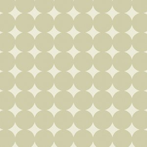 Heather Bailey True Colors Fabric - Mod Dot - Dove