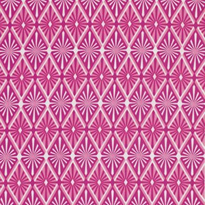Jenean Morrison True Colors Fabric - Diamond - Pink