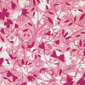 Jenean Morrison True Colors Fabric - Flowers - Rose