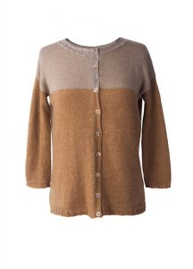 Shibui Cima and Silk Cloud Mix No. 16 Cardigan Kit - Women's Cardigans