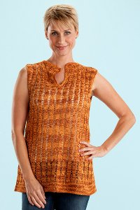 Trendsetter Twiggy Cabled Pullover Kit - Women's Sleeveless