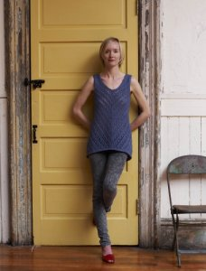 Imperial Yarn Patterns - Trickle Down Tank Pattern