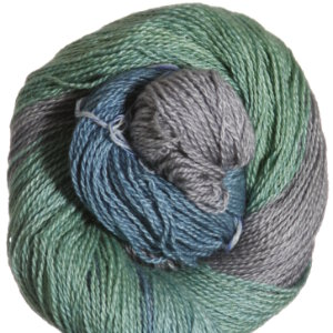 Jade Sapphire Silk/Cashmere 2-ply Yarn - 'Holiday Collection' - City of Glass