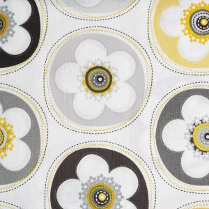 AdornIt Crazy for Daisies Fabric - Crazy for Daisy Dot - Sunshine