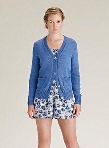 Rowan Cotton Glace Bountree Cardigan Kit - Women's Cardigans