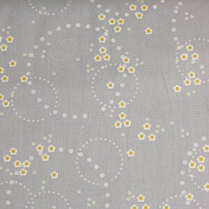 AdornIt Crazy for Daisies Fabric - Daisy Scatter - Gray