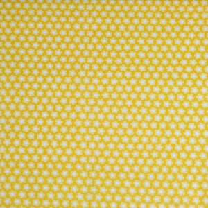 AdornIt Crazy for Daisies Fabric - Dulcet Dot - Tangerine