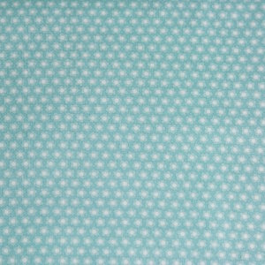 AdornIt Crazy for Daisies Fabric - Dulcet Dot - Teal