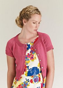 Rowan Cotton Glace Briar Cropped Cardigan Kit - Women's Cardigans