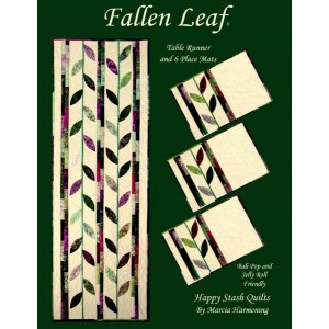 Happy Stash Quilt Sewing Patterns - Fallen Leaf Pattern