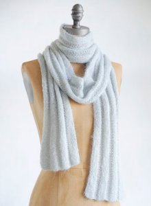 Blue Sky Fibers Traveler's Series Patterns - Silk & Suri Scarf Pattern