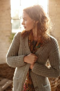 Rowan British Sheep Breeds Chunky Broadstairs Sweater Kit - Women's Cardigans