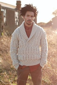 Rowan British Sheep Breeds Chunky Orwell Men's Pullover Kit - Mens Sweaters