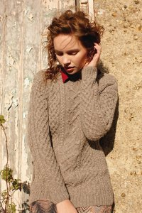 Rowan British Sheep Breeds DK Woolwich Pullover Kit - Women's Pullovers
