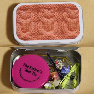 The Sexy Knitter Knitter's Tool Tins - Owls