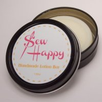Alsatian Soaps & Bath Products Sew Happy Handmade Lotion Bar - Lemongrass
