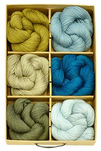Blue Sky Alpacas Gift Boxes - Alpaca Silk - Cypress