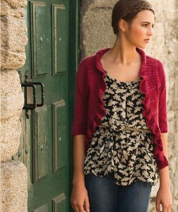 Malabrigo Lace Antiguo Cardigan Kit - Women's Cardigans