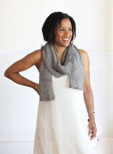 Classic Elite Vail Textured Scarf  Kit - Scarf and Shawls