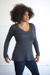 Classic Elite Silky Alpaca Lace Long Sleeved Pullover Kit - Women's Pullovers