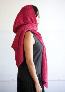Classic Elite Vail Hooded Wrap Kit - Scarf and Shawls