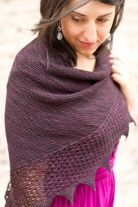 Miriam Felton Patterns - Bramble Shawl Pattern