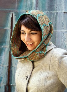Anne Kuo Lukito Patterns - Mandarinfish Cowl Pattern