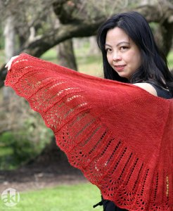 Anne Kuo Lukito Patterns - Weekend Shawl Pattern