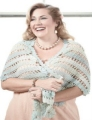 Crystal Palace Mini Mochi Swan Lake Shawl Kit