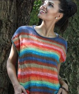 Noro Shiraito Sleeveless Sweater Kit - Women's Sleeveless