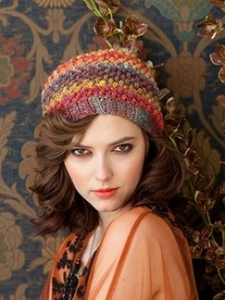 Noro Silk Garden Crochet Bobbled Hat Kit - Hats and Gloves