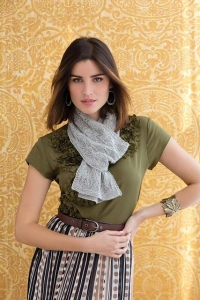 Classic Elite MountainTop Vail Laceweight Scarf Kit - Scarf and Shawls