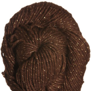 HiKoo SimpliWorsted Metallic Yarn - 302 Brown & Gold