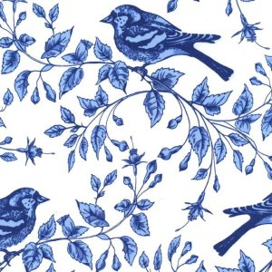Michael Miller Fabrics Blue & White Fabric