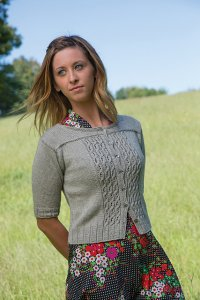 Classic Elite Mountain Top Canyon Sweet Cicely Cardigan Kit - Women's Cardigans