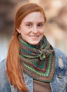 Classic Elite Liberty Wool Light Triangaholic Shawl Kit - Scarf and Shawls