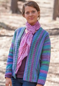 Classic Elite Liberty Wool Light Cardiganism Cardigan Kit - Women's Cardigans