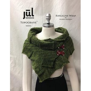 Jul Topografie Series Patterns - Ridgeline Wrap & Cowl Pattern