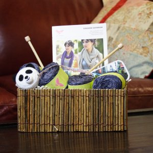 Jimmy Beans Wool Eco-Friendly Gift Baskets - Simple Eco-Gift Basket