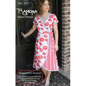 Serendipity Studio Sewing Patterns - Ramona Wrap Dress Pattern