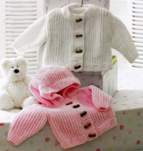 James C. Brett Baby & Children Patterns - JB172 - Jackets Pattern